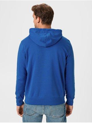 Mikina GAP Zip Logo Modrá