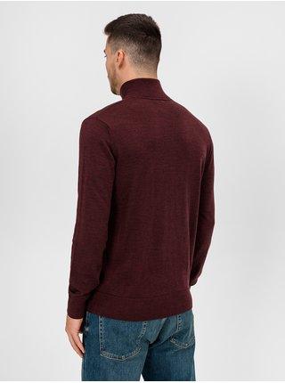 Vínový pánský svetr GAP