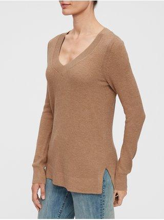 Hnědý dámský svetr GAP