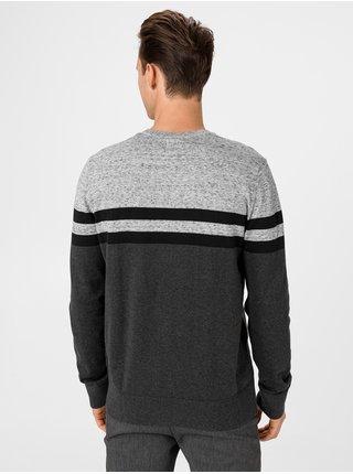 Šedý pánsky sveter GAP