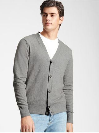 Šedý pánský svetr GAP