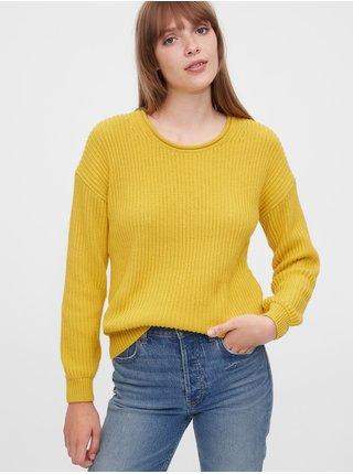 Žltý dámsky sveter GAP