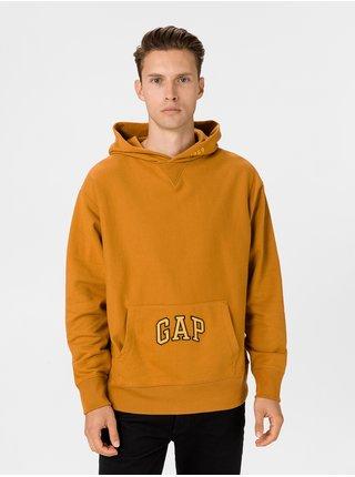 Oranžová pánska mikina GAP
