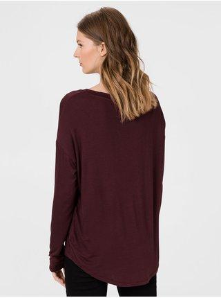 Vínové dámské tričko GAP