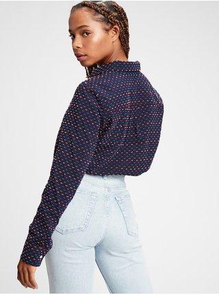 Modrá dámska košeľa GAP
