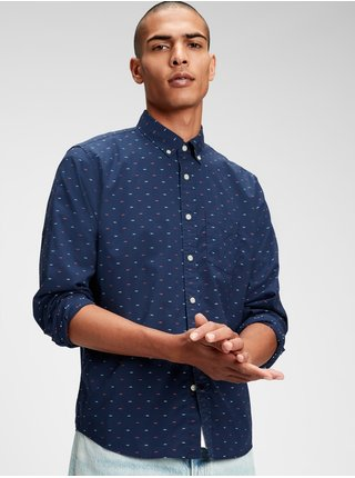 Modrá pánska košeľa GAP