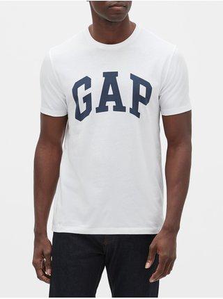 Bílé pánské tričko GAP logo