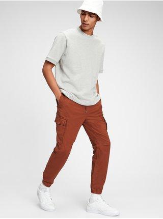 Hnědé pánské kalhoty GAP Cargo