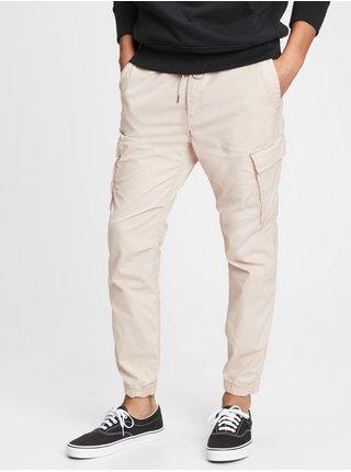 Béžové pánské kalhoty GAP Cargo