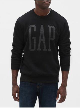 Čierna pánska mikina GAP Logo
