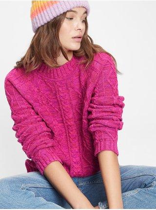 Růžový dámský svetr GAP