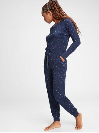 Modré dámské pyžamové kalhoty GAP