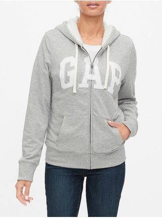 Šedá dámská mikina GAP Logo