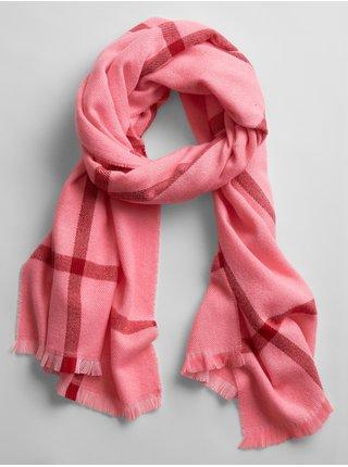 Ružový dámsky šál GAP