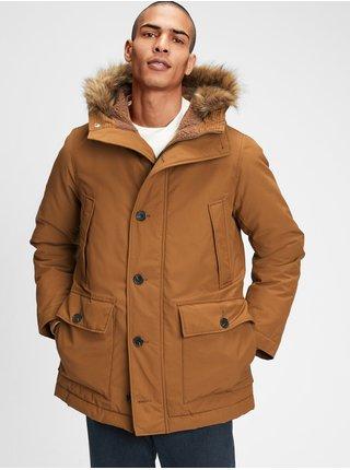 Hnedý pánsky kabát GAP