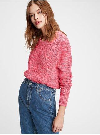 Ružový dámsky sveter GAP