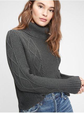 Šedý dámský svetr GAP