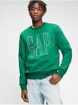 Zelená pánská mikina GAP Logo