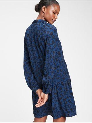 Modré dámske šaty GAP