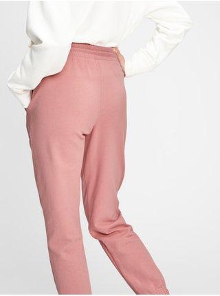 Růžové dámské tepláky GAP