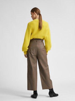 Žltý sveter Selected Femme Sofii