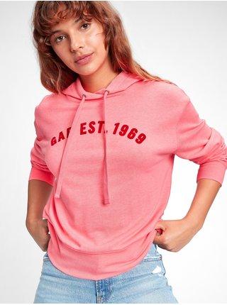 Růžová dámská mikina GAP