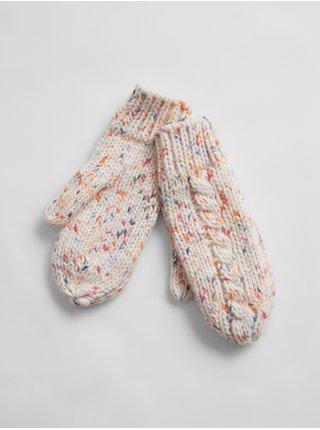 Farebné dámske rukavice GAP
