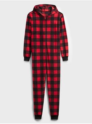 Červený pánský pyžamový overal GAP