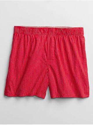Červené pánske boxerky GAP