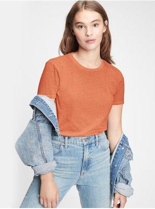 Oranžové dámské tričko GAP