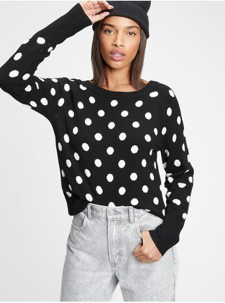 Čierny dámsky sveter GAP