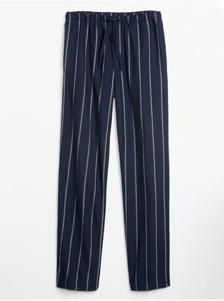 Modré pánske pyžamové nohavice GAP