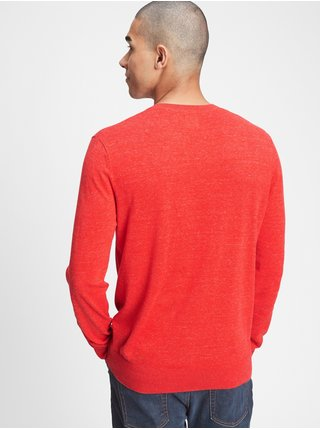Červený pánský svetr GAP
