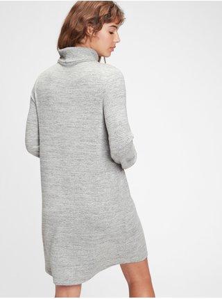 Šedé dámske šaty GAP