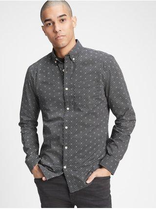 Černá pánská košile GAP