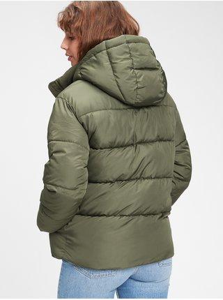 Zelená dámská bunda GAP