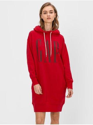 Červené dámske šaty GAP