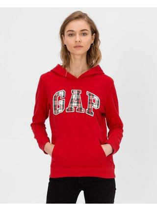 Červená dámska mikina GAP Logo