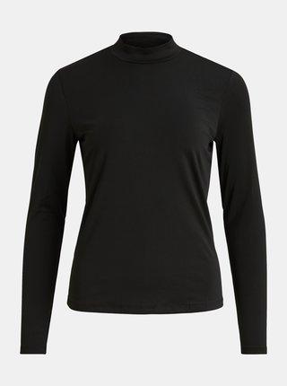 Černé tričko se stojáčkem VILA