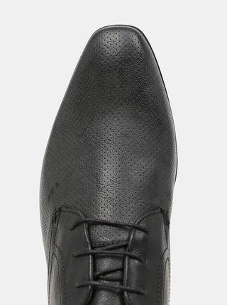 Čierne poltopánky Burton Menswear London