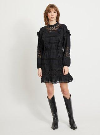 Černé krajkové šaty .OBJECT