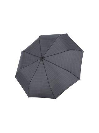 Doppler Magic FLIPBACK káro unikátní pánský plně automatický deštník - Černá