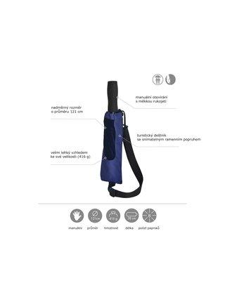 Doppler Golf Trekking skládací modrý - Modrá