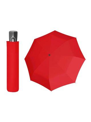 Doppler Magic Fiber červený plně automatický deštník - Červená