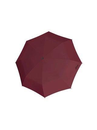 s.Oliver Fruit Cocktail vínový skládací deštník s kulatou rukojetí - Vínová