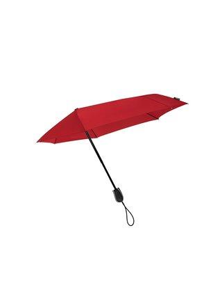 STORMini® STORMini® Red aerodynamický větruodolný skládací deštník - Červená