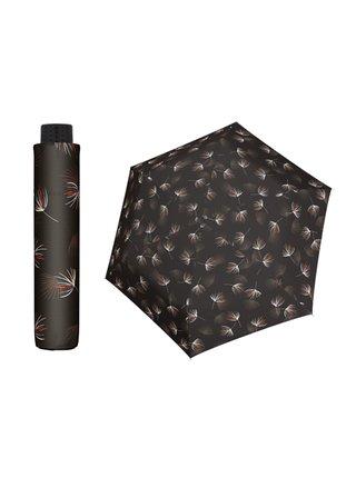 Doppler HAVANNA Desire hnědý ultralehký skládací deštník - Hnědá