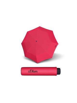 s.Oliver Smart Uni Seasonal Paradise Pink skládací mini deštník - Pink