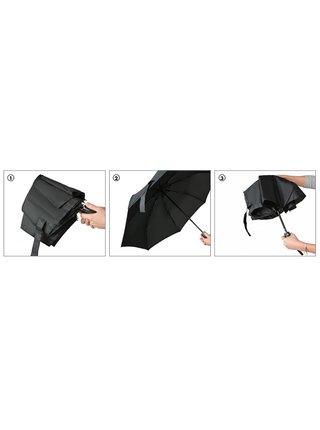 miniMAX® Royal Dark Green plně automatický skládací deštník - Zelená