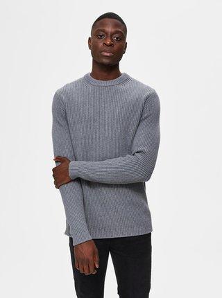 Šedý svetr Selected Homme